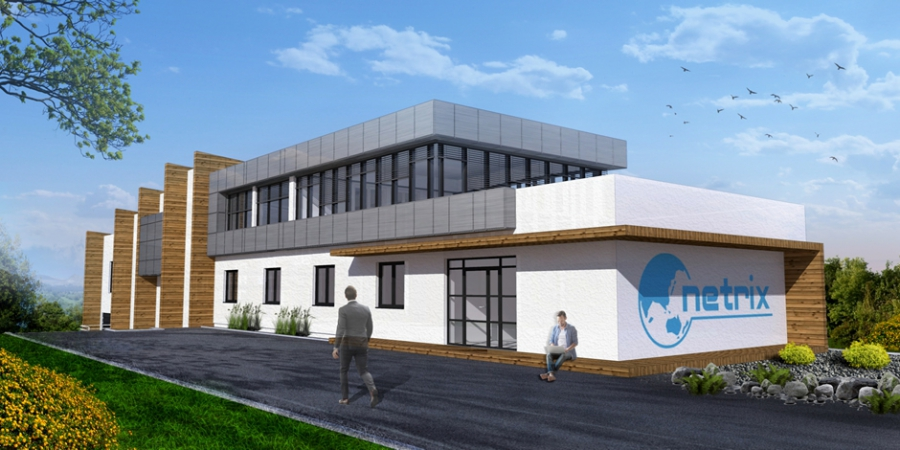 Rozbudowa budynku biurowego